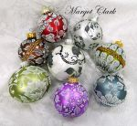 Margot's MUD Ornaments