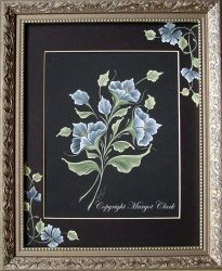 Blue Fantasy Florals E-Packet 192
