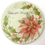 Shaded Wash Poinsettia Plate Tutorial 194