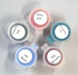 Set of Five MUD Colorants