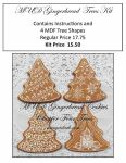 Gingerbread Trees Kit